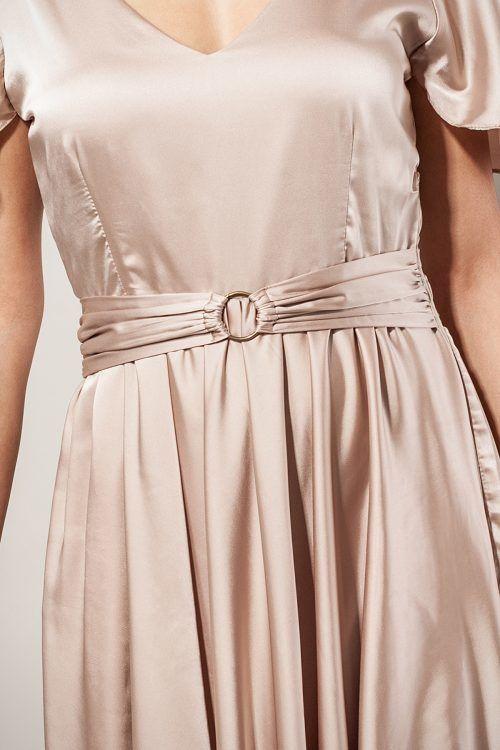 Kleiddetail Designerkleid SinWeaver